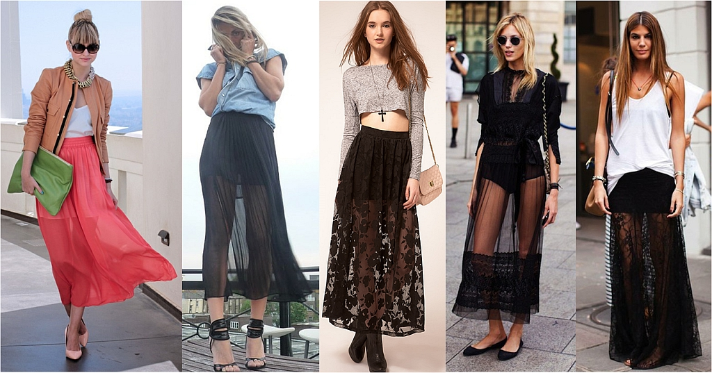 355e25aebb Sheer maxi skirt with side slit DIY   tigerlily and peterpan